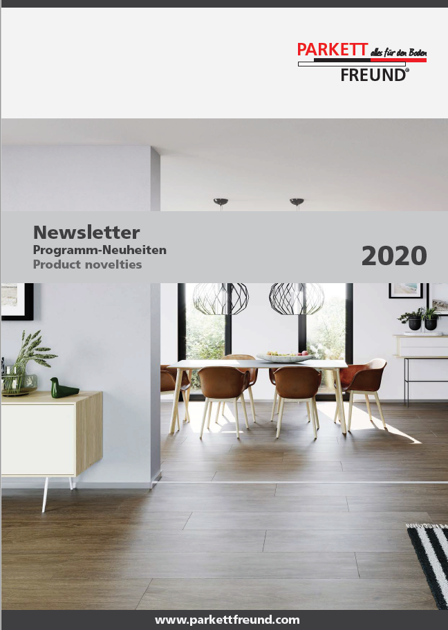 h2o.hu ParkettFreund Newsletter, Neuheuten EUR árlista 31 2020