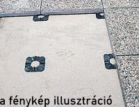 h2o.hu Dural drén terasz rendszer min. 20mm vtg burkolatokhoz