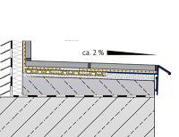 h2o.hu Dural Durabase CI++ Aquamatte DWP és Durabal BK terasz szegély
