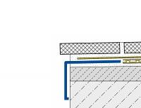 h2o.hu Dural Durabal BW terasz lezáró profil , terasz cseppentő