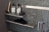 h2o.hu Dural Tishelf csempézhető zuhanypolcok különféle formában, méretben
